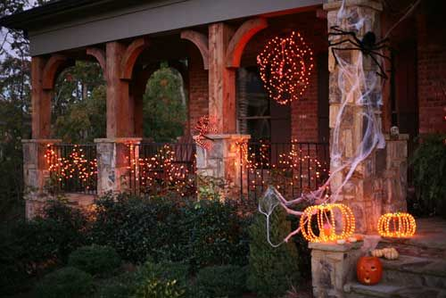 Halloween Decorative Lighting Displays