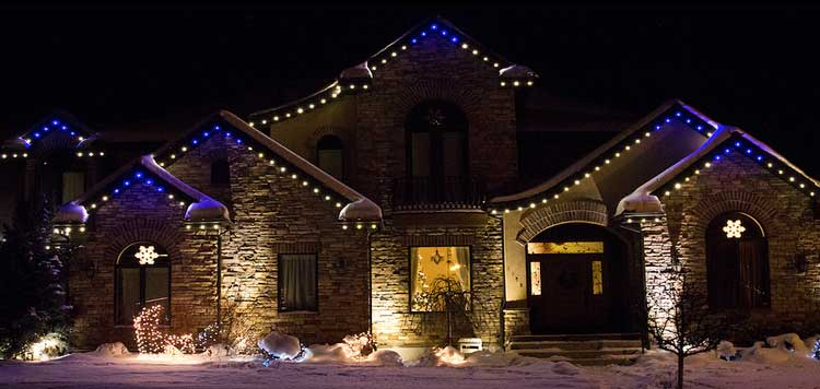 Christmas lights made easy tired of hanging your outdoor